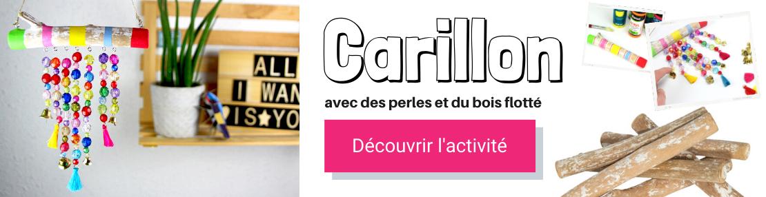 DIY carillon perles