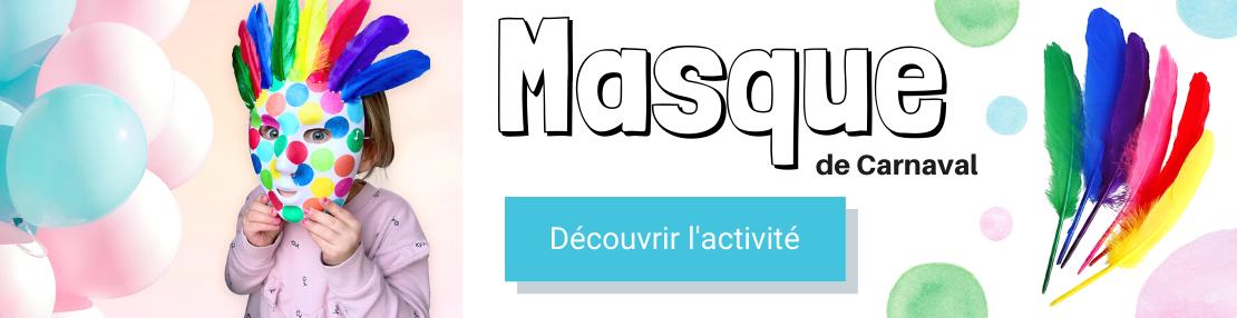 DIY masque carnaval