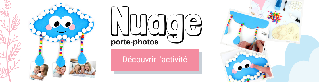 DIY nuage photo