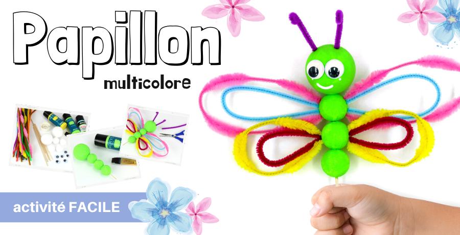 DIY papillon chenilles