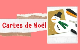 Cartes de Noël - Tutos Noël - 10doigts.fr