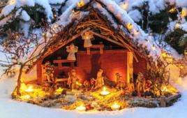 Crèches et villages de Noël - Noël - 10doigts.fr