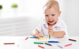 Dessin 1er âge - Activités pour moins de 3 ans - 10doigts.fr