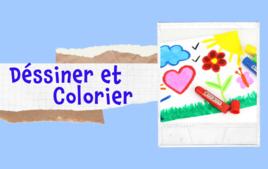 Dessiner, colorier - Tutos Enfants - 10doigts.fr