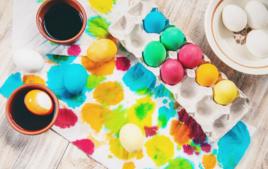 Encres pour teindre les œufs - Activités de Pâques - 10doigts.fr