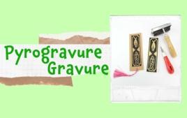 Gravure, pyrogravure, Linogravure - Tutos Déco - 10doigts.fr
