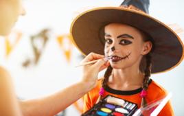 Je me maquille - Activités d'Halloween - 10doigts.fr