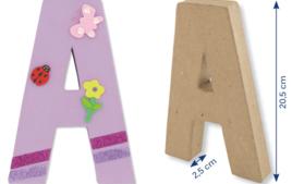 Lettres et Formes - Supports en Carton - 10doigts.fr