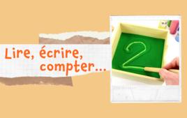 Apprendre à lire, écrire, compter - Tutos Educatifs - 10doigts.fr
