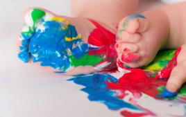 Peintures moins de 3 ans - Activités pour moins de 3 ans - 10doigts.fr