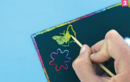 Peinture à gratter - Peintures à effets - 10doigts.fr