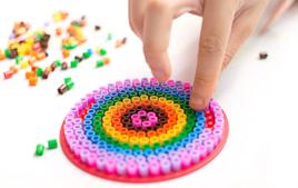 Kits perles fusibles à repasser - Perles fusibles à repasser - 10doigts.fr