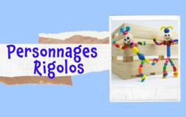 Personnages rigolos - Tutos Enfants - 10doigts.fr
