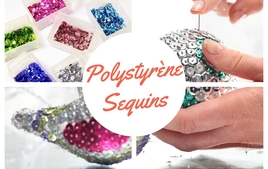 Polystyrène et Sequins - Produits - 10doigts.fr