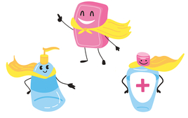 Protections et désinfectants - Kits Ecoles, centres de loisirs - 10doigts.fr