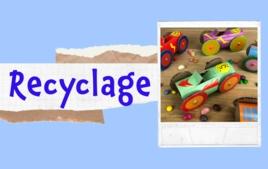 Recyclage - Tutos Enfants - 10doigts.fr