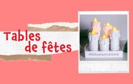 Tables de fêtes - Tutos Noël - 10doigts.fr