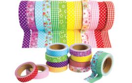 Adhésifs colorés et Masking tape - Adhésifs - 10doigts.fr