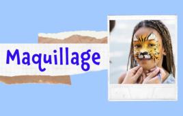 Maquillage - Tutos Enfants - 10doigts.fr