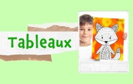 Tableaux - Tutos Déco - 10doigts.fr