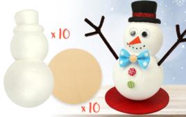 Activités de Noël en kit - Noël - 10doigts.fr