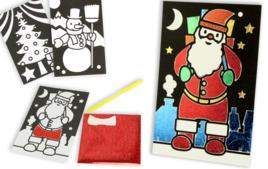 Cartes de vœux - Noël - 10doigts.fr