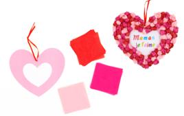 Faire une carte - Saint Valentin - 10doigts.fr