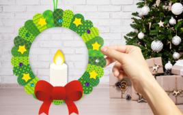 Couronnes de Noël - Noël - 10doigts.fr