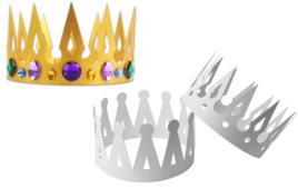 Faire une couronne - Fête des rois - 10doigts.fr