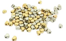 Perles en métal - Matières de perles - 10doigts.fr