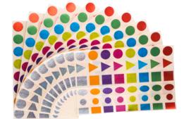 Gommettes Géantes - Gommettes, stickers - 10doigts.fr