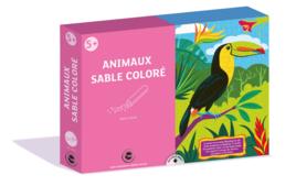 Coffret Sable coloré - Coffrets Cadeaux - 10doigts.fr