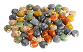 Perles en céramique - Matières de perles - 10doigts.fr