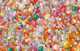 Perles tons pastel - Couleurs de perles - 10doigts.fr
