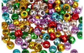 Perles métallisées - Couleurs de perles - 10doigts.fr