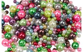 Perles nacrées - Couleurs de perles - 10doigts.fr