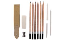 Crayons graphite - Crayons, Pastels, Cires... - 10doigts.fr