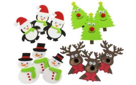 Gommettes et stickers Noël - Décorations et Accessoires - 10doigts.fr