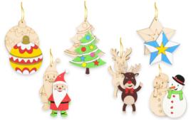 Décoration du sapin - Noël - 10doigts.fr