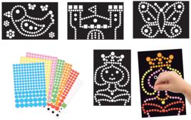 Kits créatifs gommettes - Gommettes, stickers - 10doigts.fr