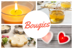 Bougies et bougeoirs