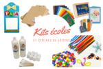 Kits Ecoles, centres de loisirs