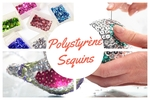 Polystyrène et Sequins