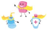 Protections et désinfectants