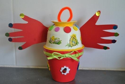 cloche de paques - Pâques, Noël - 10doigts.fr