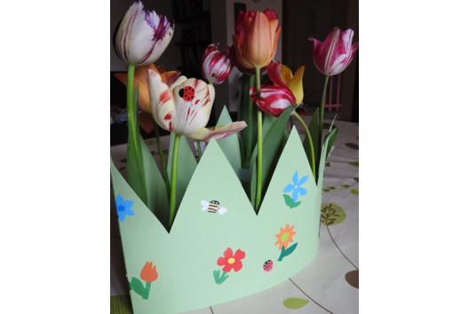 printemps fleuri - Fleurs - 10doigts.fr