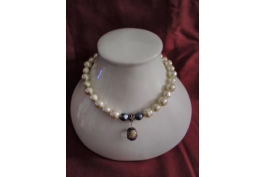 Collier de perles - Perles, bracelets, colliers - 10doigts.fr
