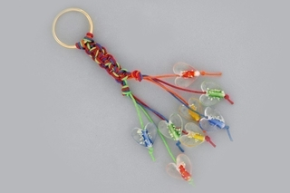 Porte clef - Perles, bracelets, colliers - 10doigts.fr