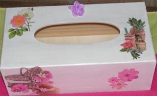 Boîtes à mouchoirs - Déco du bois - 10doigts.fr