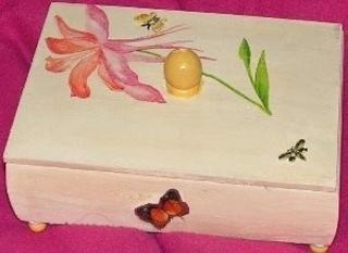 boîte à bijoux - Déco du bois - 10doigts.fr